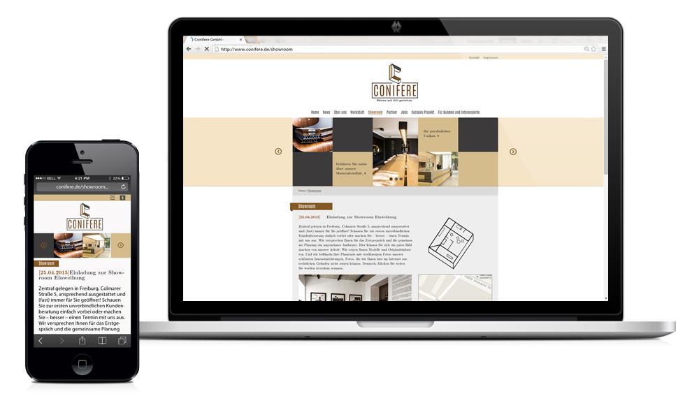 conifere-webdesign